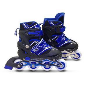 Patins-Roller-Ajustaveis-com-4-Rodas-e-Freio-Azul---Macro-30-AO-33